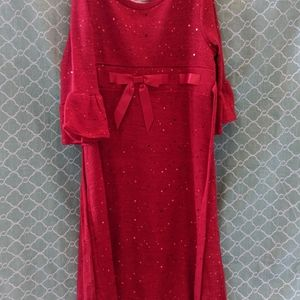 Other - Girls red sparkly dress
